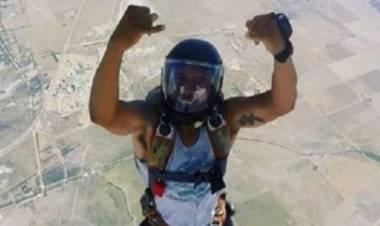 Un puntaltense se colgó la medalla de bronce en el Campeonato Argentino de Paracaidismo