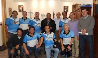 El Intendente recibió a los veteranos que compitieron las Olimpíadas de Córdoba