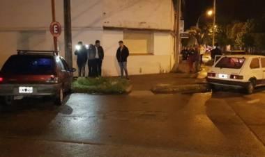Chocaron dos vehículos y fueron secuestrados