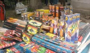 Protección Ciudadana recuerda que rige la prohibición de venta y uso de pirotecnia