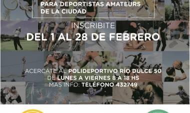 Sigue abierta la inscripción a Becas Deportivas 2019