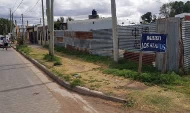 Los Álamos: Preocupación por la situación de los terrenos