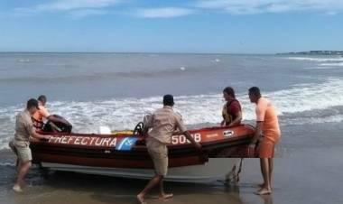 Una embarcación de Prefectura protagonizó un accidente en la ría