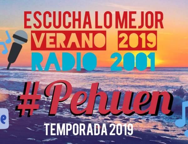 Pehuen Co: Comienzan las transmisiones en VIVO de Radio 2001 desde Paseo del Mar y Punta Mingo