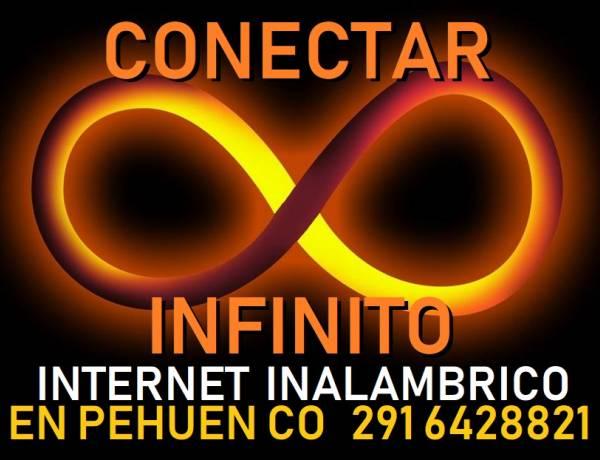 Pehuen Co: Conectar Infinito es Internet Inalambrico sin cortes