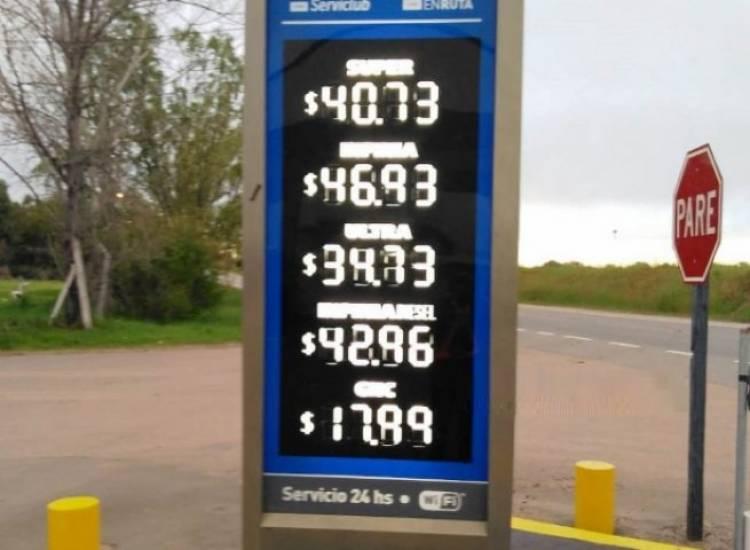 Así quedaron los precios de los combustibles en la ciudad