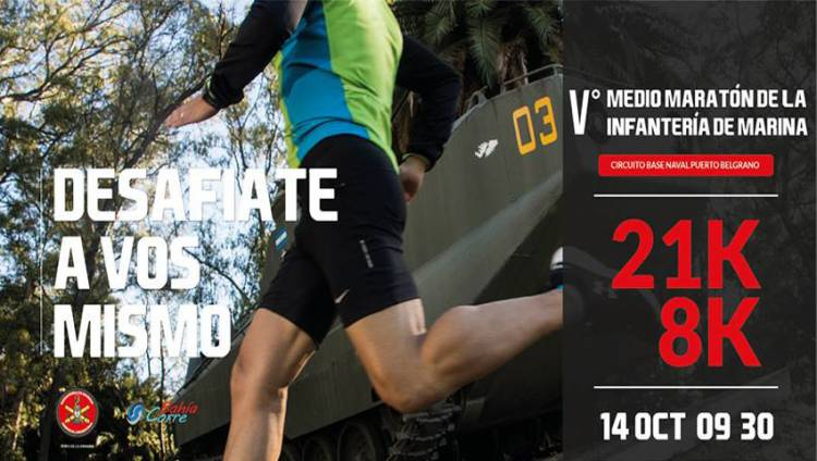 Se realizará la V Media Maratón de la Infantería de Marina
