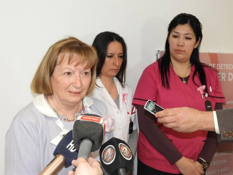 Comenzó la 8° Campaña de detección de cáncer de mamas