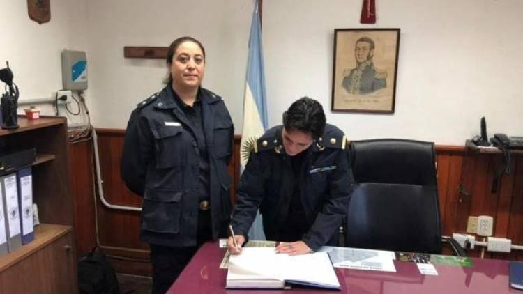 Se realizó el cambio de autoridad policial en Villa Arias