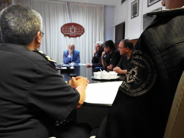 El Intendente se reunió en Ministerio Defensa para acercar una solución a la PEN