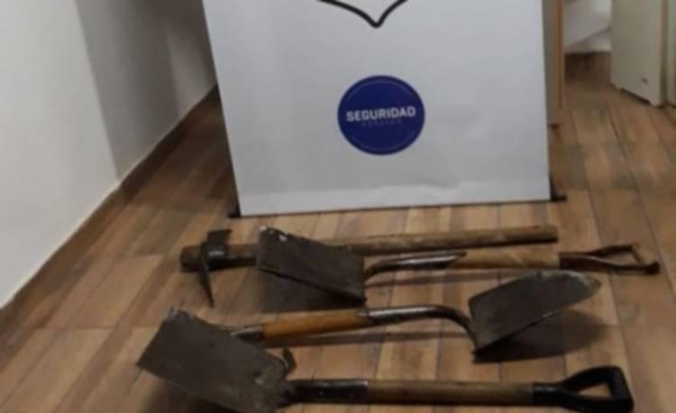 Lo detienen acusado de robar herramientas de una obra
