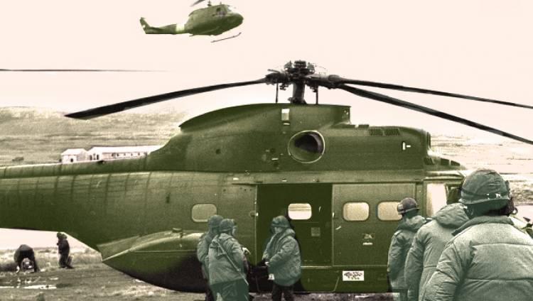 Guerra de Malvinas: documentos británicos revelan el misterio del helicóptero argentino que desapareció en una misión de rescate