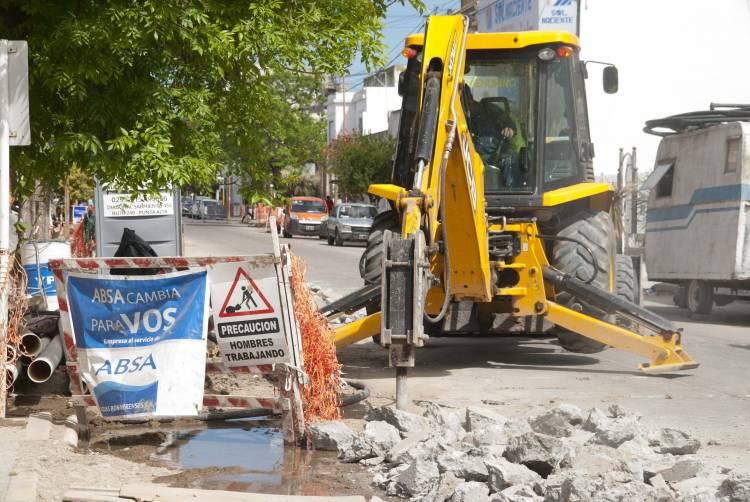 El Municipio presentó quejas ante ABSA por mala terminación de obras