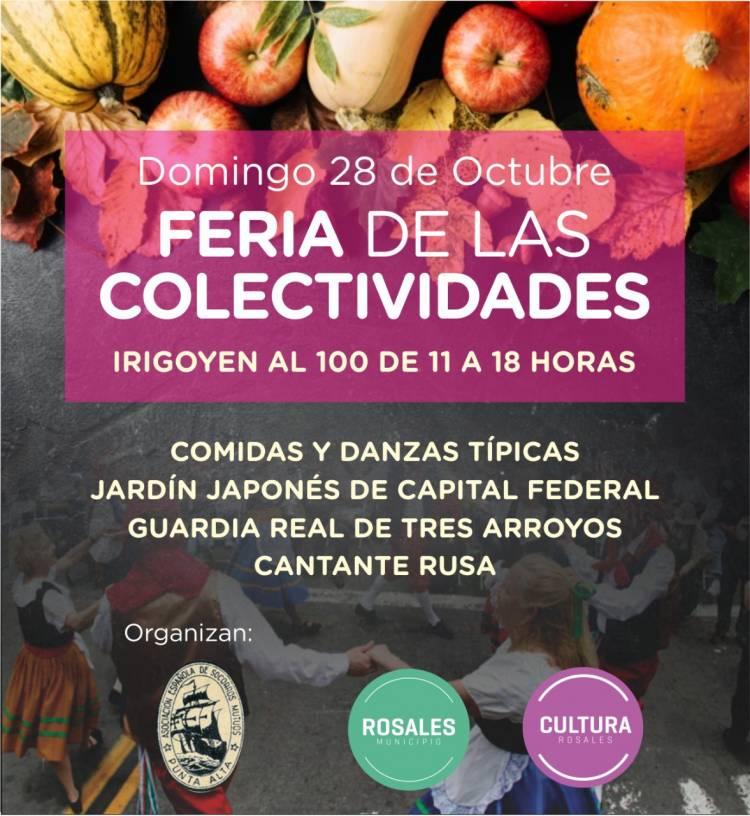 Este domingo será la 2° Fiesta de las Colectividades en calle Irigoyen