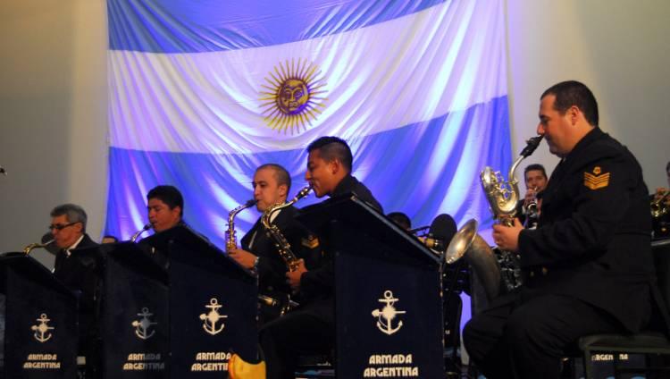 La Banda de Música de Puerto Belgrano en concierto gratuito