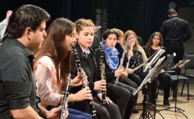 Las bandas del Cepeac dan un concierto en la Sociedad Italiana