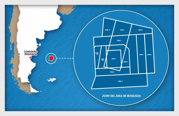 ARA San Juan: Inspeccionan una nueva área de búsqueda