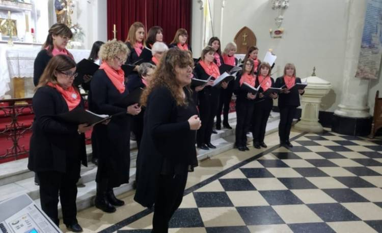 Un merecido homenaje a la voz coral Haydée Mella de Ferretti