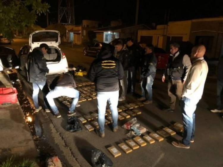 Tres Arroyos: Realizan el secuestro de droga más grande de la historia