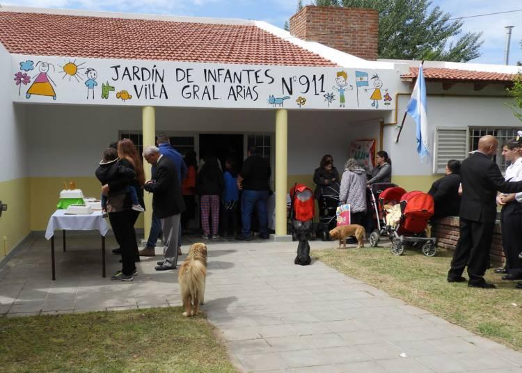 El Municipio inauguró la obra de reconstrucción del Jardín N°911