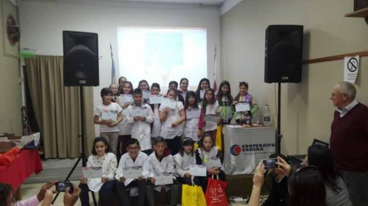Pehuen Co: Alumnos de la Escuela Nº 18 ganaron un concurso