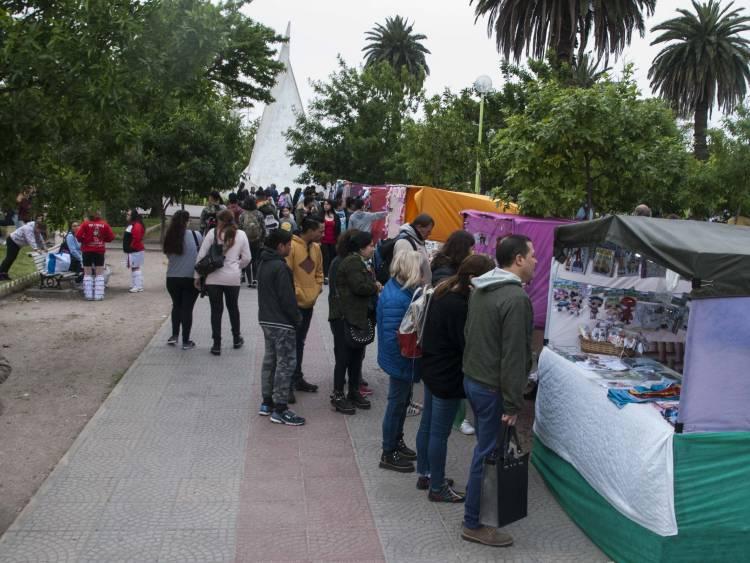 Rosales festejó la tradición en Plaza Belgrano durante todo el fin de semana