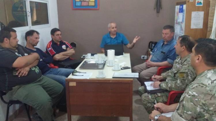 Protección Ciudadana reunió a partes involucradas para evitar incendios en Baterías