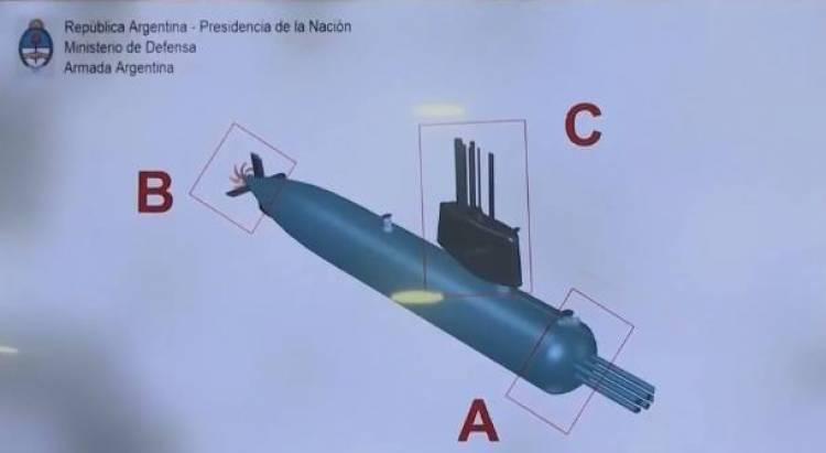 ARA San Juan: las primeras fotos del submarino en el fondo del mar