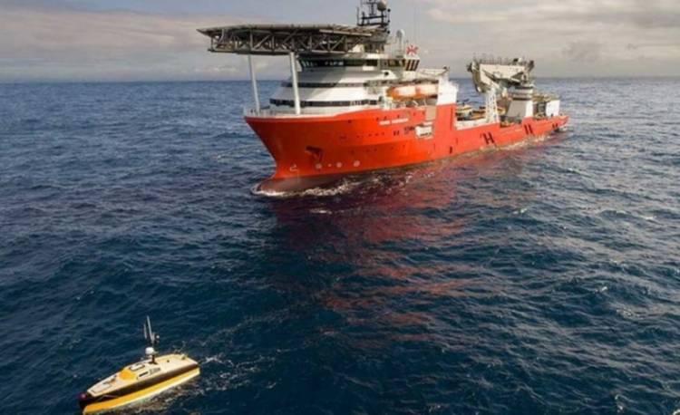 """El buque """"Seabed Constructor"""" partió hacia Sudáfrica tras el hallazgo del ARA San Juan"""