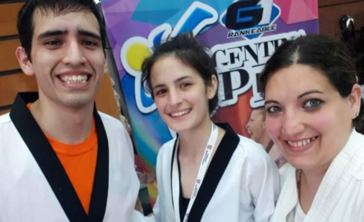 Puntaltenses destacados en el Torneo de Taekwondo