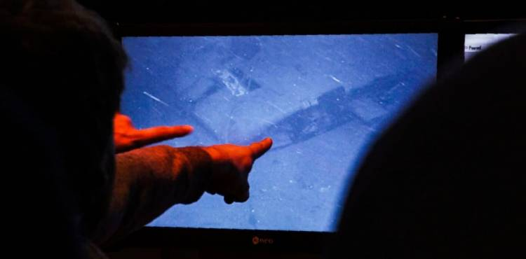 Video: el momento en que los tripulantes del Ocean Infinity encontraron el ARA San Juan