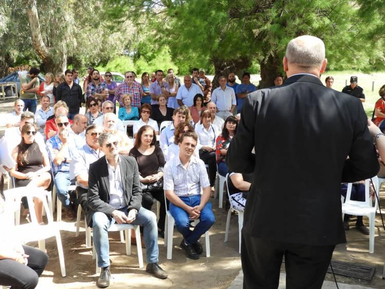 El Intendente participó del festejo de los 20 años de la Comunidad Terapéutica