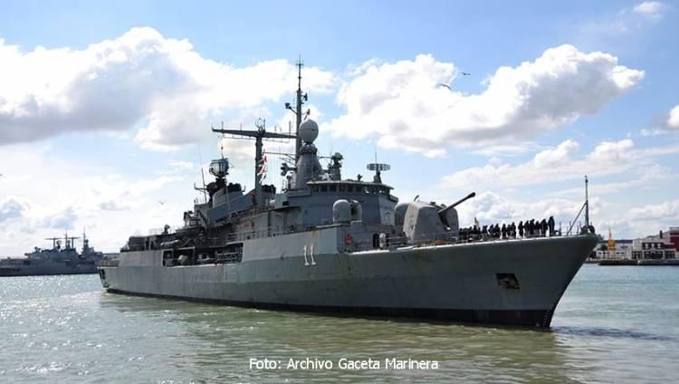"""G20: El destructor ARA """"La Argentina"""" formará parte de operaciones de control aéreo"""