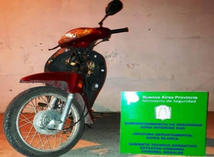 Recuperaron una moto que había sido robada en una heladería