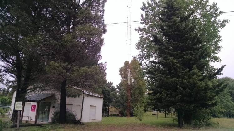 Pehuen Co: la IVR pidió información sobre una antena ubicada en la Delegación Municipal