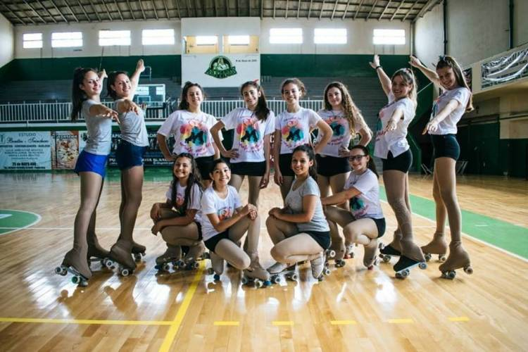 Las chicas de Show For Ever lograron recaudar fondos y viajarán al Nacional de Patín