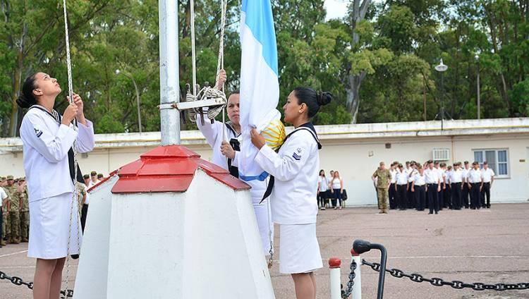 Recordaron el 122º aniversario de la Base Naval Puerto Belgrano