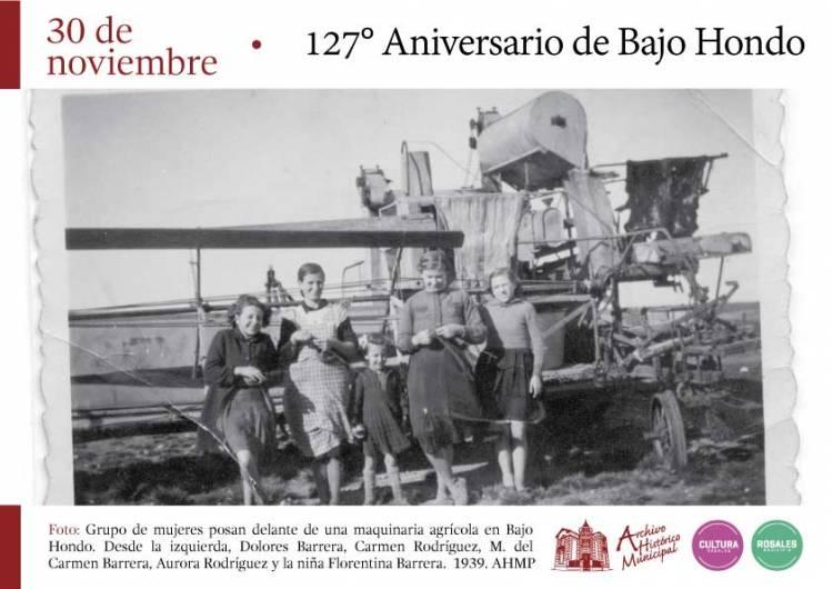 127 Aniversario de la localidad de Bajo Hondo