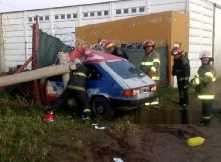 Es grave el estado de salud del conductor que sufrió un accidente