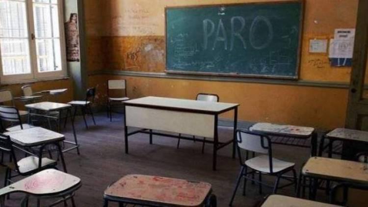 Habrá paro docente en la provincia para este lunes