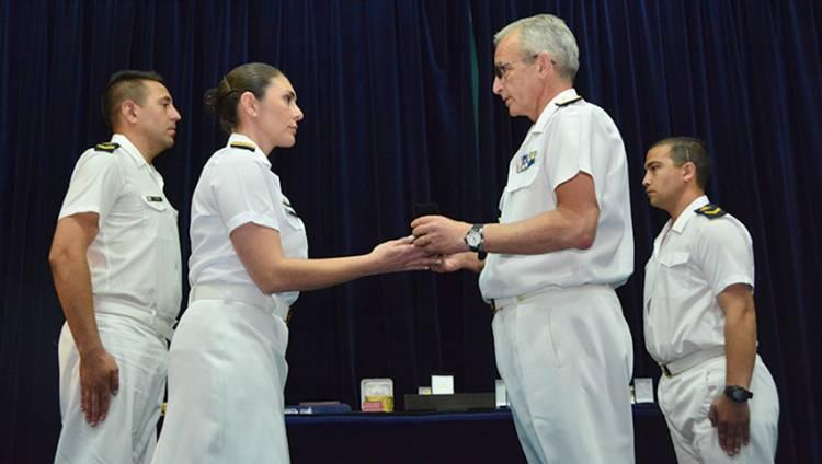 Egresos en la Escuela de Oficiales de la Armada
