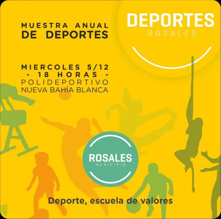 Este miércoles será la muestra anual de escuelas municipales de Deporte