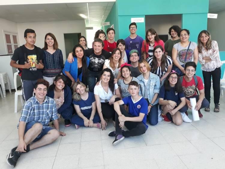 Con el apoyo de Juventud se conformó la Federación de Centros de Estudiantes