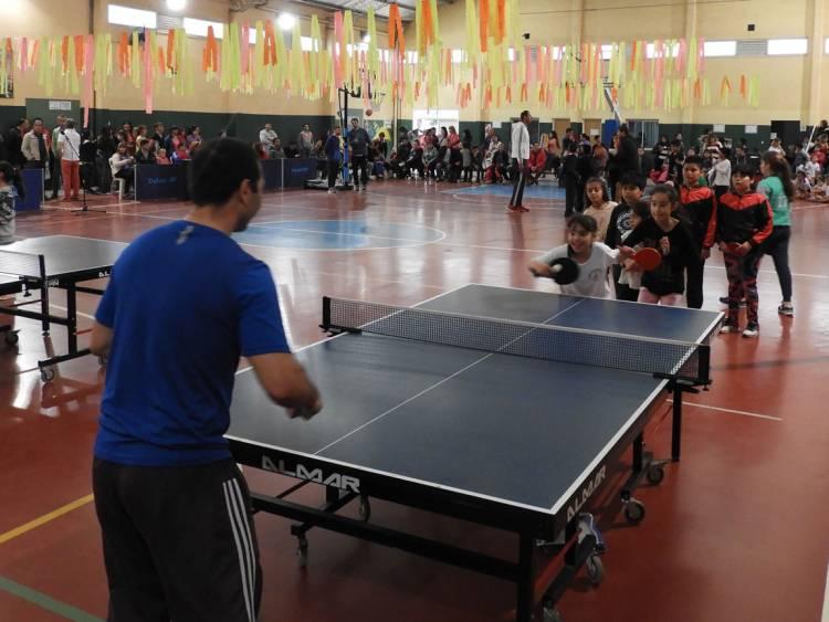 Se realizó la muestra anual de las escuelas municipales de Deporte