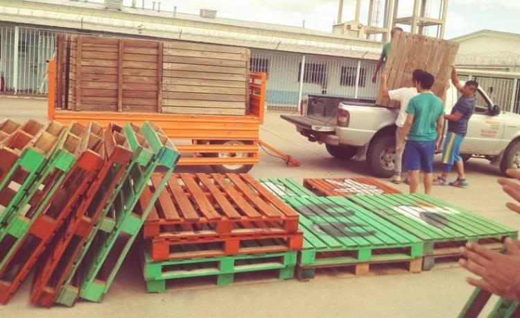 Pehuen Co: Presos de la cárcel de Bahía hicieron rampas para los balnearios