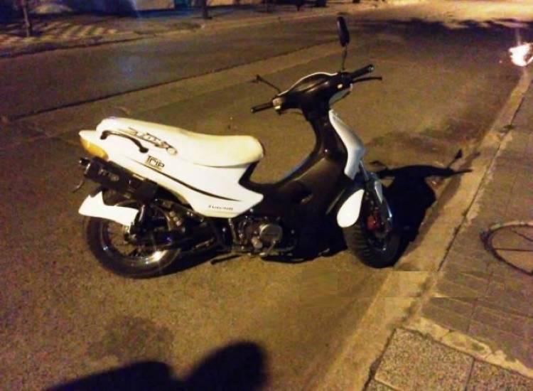 Dos personas heridas tras un choque de motos