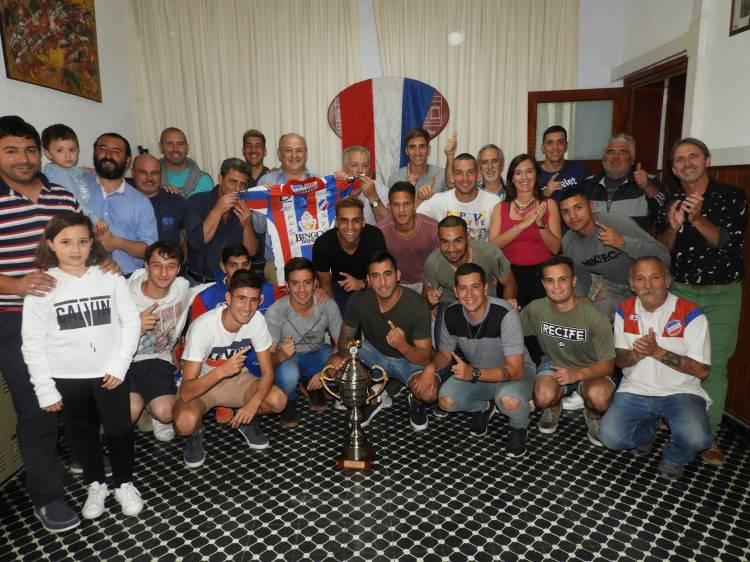 El Municipio recibió al plantel de Rosario campeón