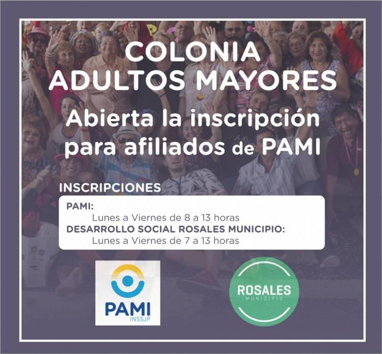 El Municipio abrió la inscripción para Colonia de Vacaciones de Adultos Mayores