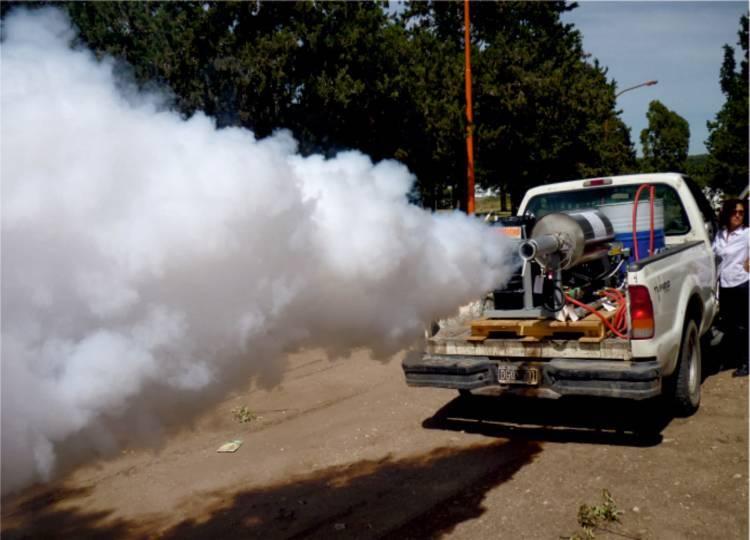 Así se realizarán los trabajos de fumigación durante enero