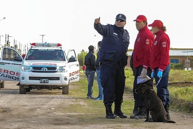 El K9 comienza el año con una búsqueda en Bariloche